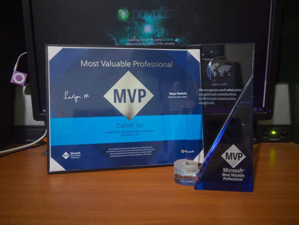 My Microsoft MVP Award!